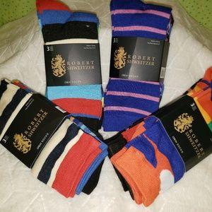 Robert Shweitzer Mens Funky/Color Dress Socks